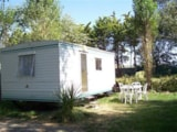 Rental - Mobile Home Without Private Facilities Bambi - Camping Brin d'Amour