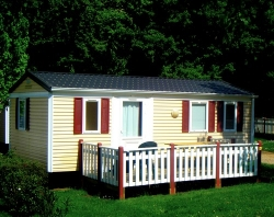 Rental - MOBIL-HOME MERCURE 2 bedrooms - CAMPING L'ESCAPADE