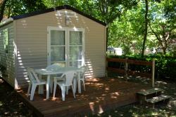 Rental - Mobilhome LODGE - 1 bedroom - Camping Le Pech de Caumont