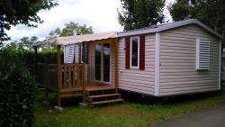 Rental - Mobile home Tourterelle 32m² + terrace (2013) - Camping le Pigeonnier