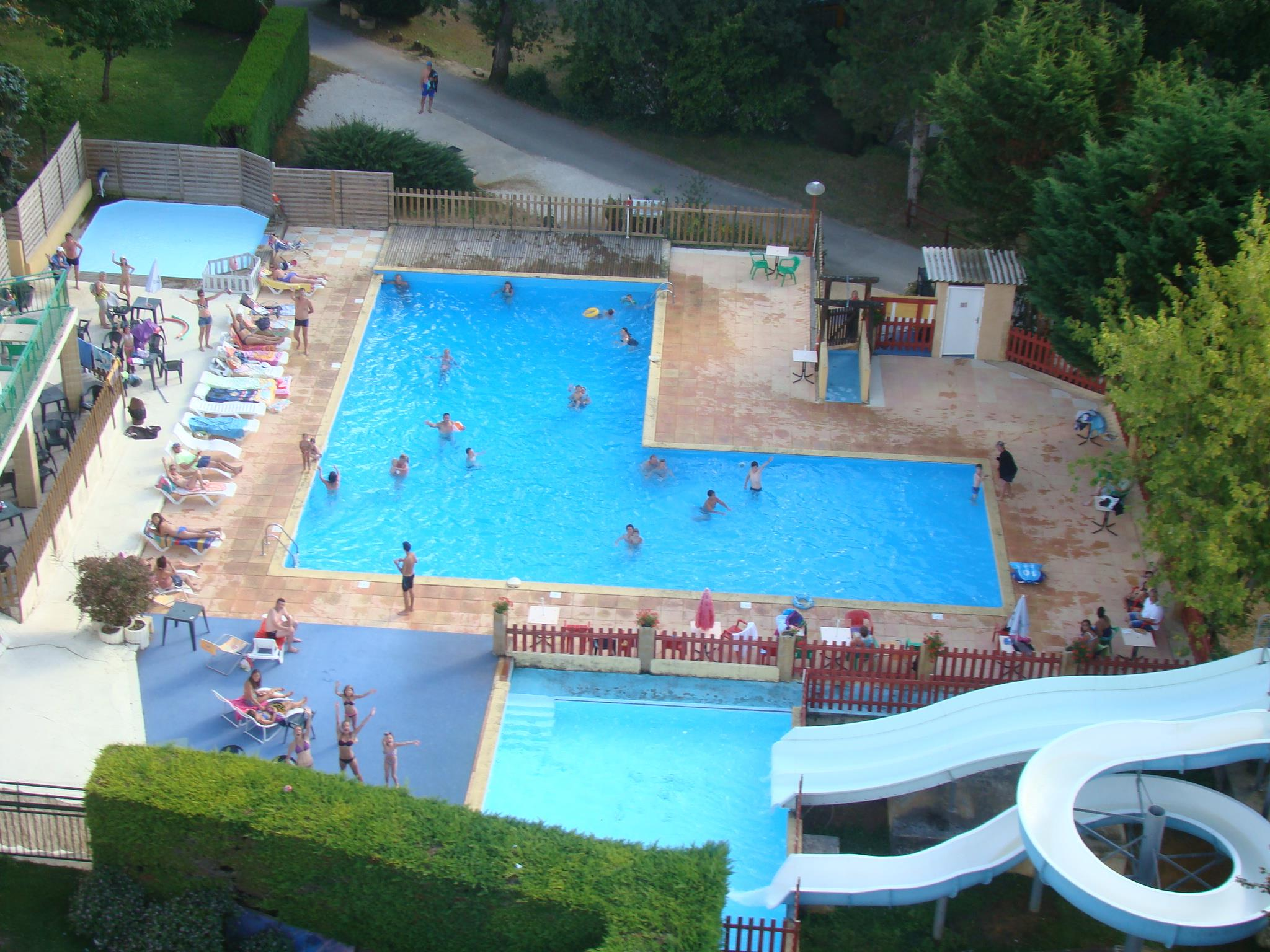 Bathing Camping Le Pigeonnier - Saint Crepin Carlucet
