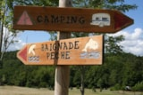 Pitch - Package:  Pitch Nature 80 till 120m2 + electricity - CAMPING LES VALADES