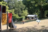 Pitch - Package: Standard Pitch 80 till 130m2 + electricity - CAMPING LES VALADES