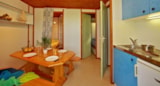 Rental - Chalet Farniente 20m² / 2 bedrooms - 20m² terrace (10m² sheltered) - CAMPING LES VALADES