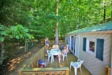 Rental - Mobile home 30m² / 2 bedrooms - terrace 12m² - CAMPING LES VALADES