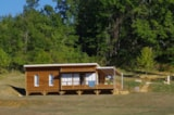Rental - Chalet Premium Family 43m²/3 bedrooms -26 m² sheltered terrace + Air conditioning - CAMPING LES VALADES