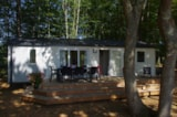 Rental - Mobile Home Family 40M² / 3 Bedrooms / 2 Bathrooms - Terrace 12M² - CAMPING LES VALADES