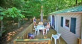 Rental - Mobile home 30m² / 3 bedrooms - terrace 12m² - CAMPING LES VALADES