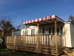 Rental - Mobile-home 2 bedrooms - Camping les Poutiroux