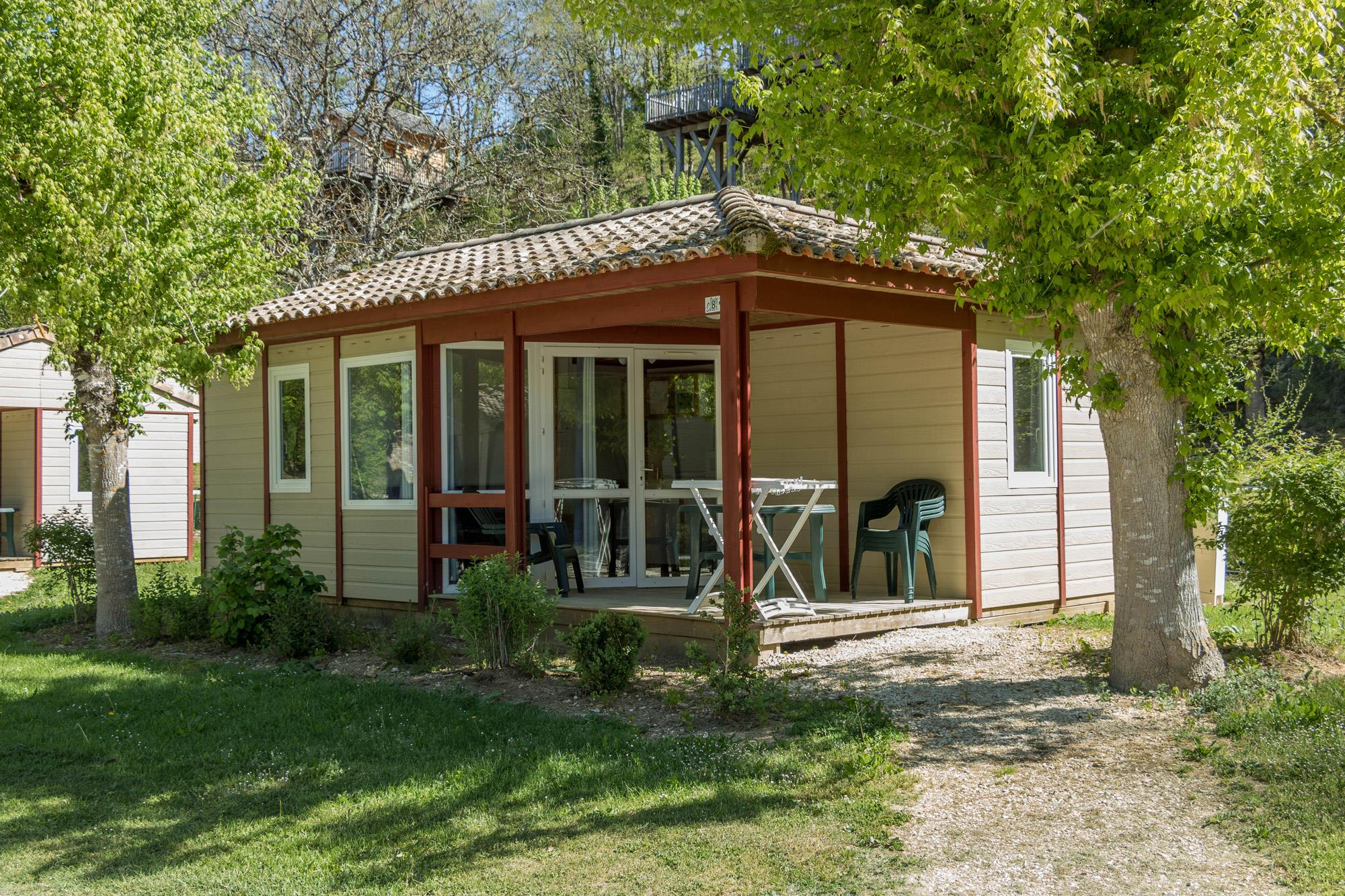 Location - Chalet Reve - Camping Village le Moulin de Surier