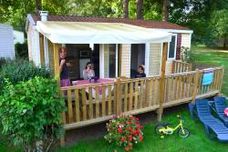 Rental - Mobile Home Riviera - Camping Le Port de Limeuil