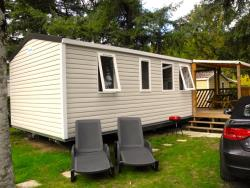 Huuraccommodaties - LOGGIA 3 CH MODEL 2016 - Camping Le Port de Limeuil