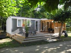 Huuraccommodaties - SUPER PREMIUM 3 CH / 2 S MODEL 2016 - Camping Le Port de Limeuil