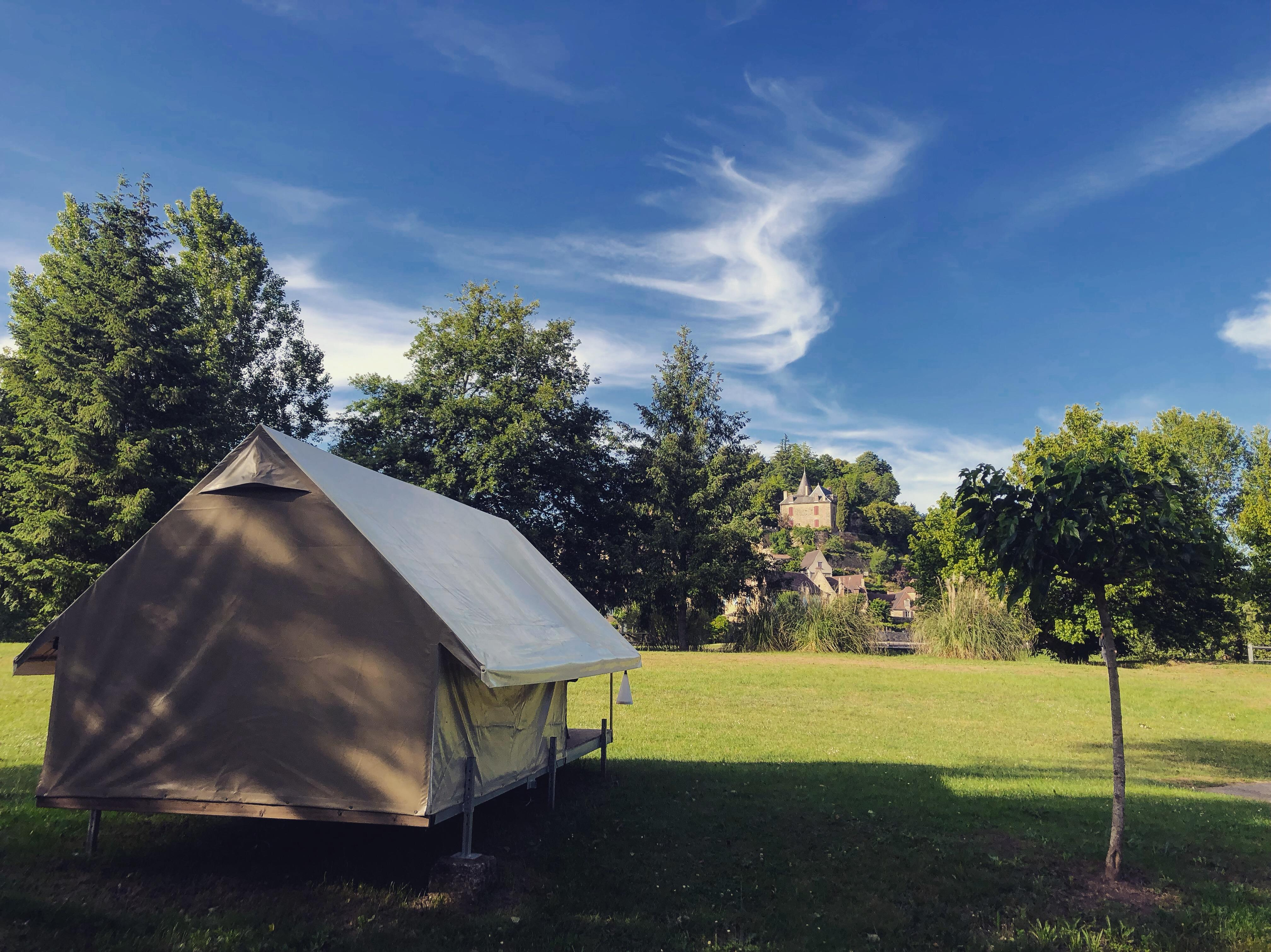 Accommodation - Tent Treck 2 Pers River View - Camping Le Port de Limeuil