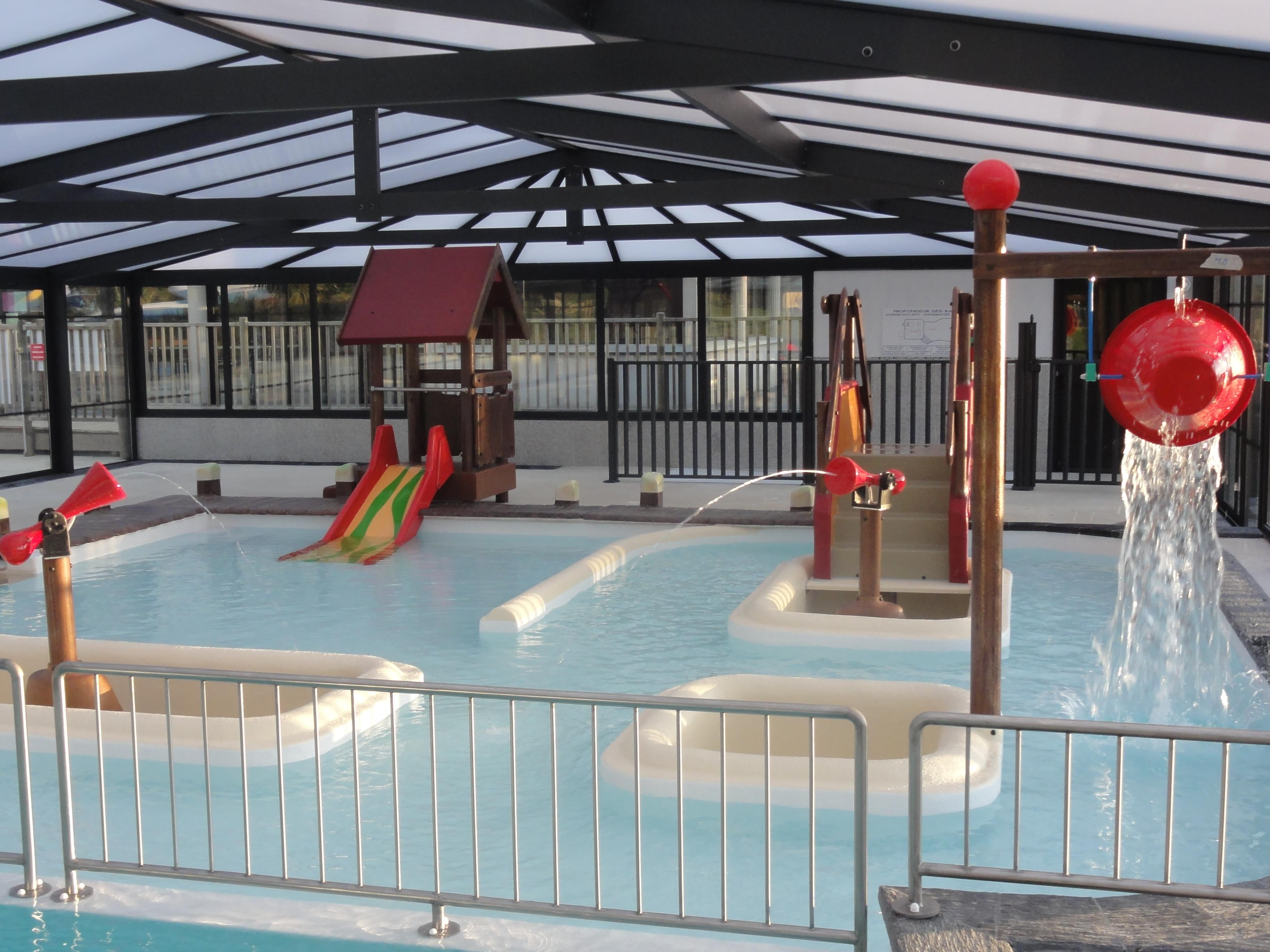 Camping du haras camping kersimon 56250 monterblanc for Piscine vannes horaires