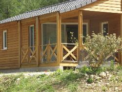 Rental - Wooden Chalet - Camping Domaine du Lac