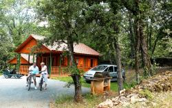 Rental - Wooden Chalet with air-conditioning - Domaine de Loisirs Le Montant