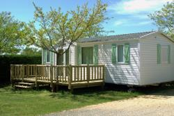 Huuraccommodatie - Deluxe Family 32M² 3 Bedroms (With Terrace) - Camping La Nouvelle Croze