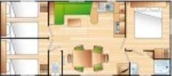 CABANE 3 chambres CONFORT
