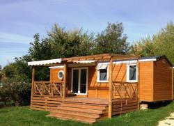 Rental - Mobile-home Luxe Bois 3 bedrooms / shower XXL - Camping Domaine de Fromengal
