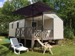 Rental - Mobile home O'HARA 734 2 bedrooms with covered terrace - Camping Le Douzou