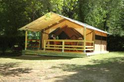 Rental - Lodge Victoria Tent 30m² / 2 bedrooms (without toilet blocks) - Camping les Pialades