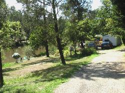 Rental - Mobilhome Merlot - 2 Rooms - View on the pond - Sunday - Camping Sites et Paysages DOMAINE DE L'ÉTANG DE BAZANGE
