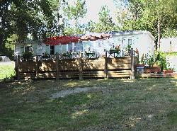 Rental - Mobilhome LUXE 2 Rooms 40 m² - View of the lake - Camping Sites et Paysages DOMAINE DE L'ÉTANG DE BAZANGE