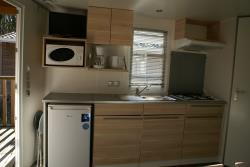 Locatifs - Mobil-home 2 chambres - Camping L'Agrion Bleu
