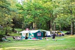 Pitch - Pitch + tent or caravan - Camping Orphéo-négro