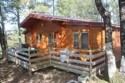 Locatifs - Chalet 1/4 pers. terrasse non couverte - Camping Orphéo-négro