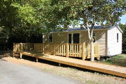 Rental - Mobil home 29m² GRAND CONFORT - adapted to the people with reduced mobility - Camping Le Plein Air Neuvicois