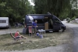 Pitch - For Campervan Only - 2 Poeple's Package And Electricity - Camping de la Pélonie