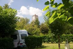 Pitch - Camping-car area + Electricity - Camping Le Pontet