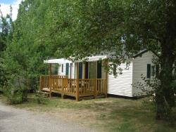 Rental - Mobile home M 27m² with deck - Camping Le Pontet