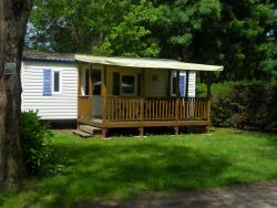 Rental - Comfort mobile home 2 bedrooms with covert terrace (saturday) - CAMPING LE ROCHER DE LA GRANELLE