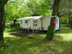 Rental - Mobile home 2 bedrooms sunday - CAMPING LE ROCHER DE LA GRANELLE