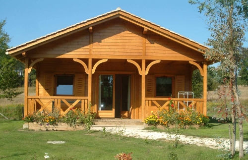 Accommodation - Chalet 35M² - 2 Bedrooms - Les Cottages en Périgord