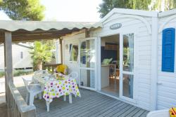 Accommodation - Mobil Home Sirius 30M² - 2 Bedrooms - Camping Le Bosc d'en Roug - Kheops Vacances