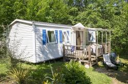 Rental - Mobile-home Confort (TV) <7 years - Camping la Linotte
