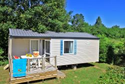 Rental - Mobil home o'hara confort, Toilet, Shower, 2 bedrooms. - Le Plein Air des Bories