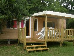 Huuraccommodaties - RESIDENCE MOBILE with toilet low season - CAMPING LE PONT DE VICQ EN PERIGORD