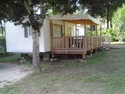 Rental - RESIDENCE MOBILE PMR WEEKLYL - CAMPING LE PONT DE VICQ EN PERIGORD