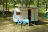 Rental - caravan without toilet - Camping Le Roc de Lavandre