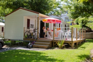 MOBILE-HOME MARINA GRAND CONFORT (4 adults and 2 kids under 16 years old)