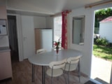 Rental - MOBILE-HOME RIVIEIRA 3 rooms (4 adults and 2 children under 16 years old) - Camping UR-ONEA