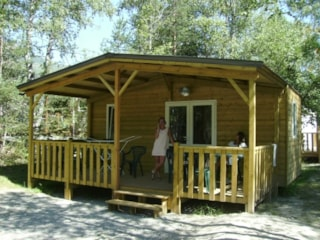 Chalet Grand Confort Type Modulo 18 - 21 m² / 1 bedroom - sheltered terrace 15 m²