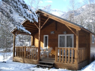 Chalet Grand Confort Type Modulo 24 - 24 M² / 2 Bedrooms - Sheltered Terrace 15 M²