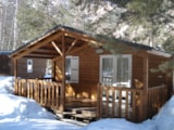 Rental - Chalet Grand Confort Type Modulo 36 - 36 M² / 2  Bedrooms - Sheltered Terrace 15 M² - Camping-Caravaneige l'Iscle de Prelles