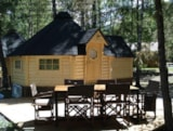 Rental - Kota Cabin - Without Water And Toilet Blocks - - Camping-Caravaneige l'Iscle de Prelles